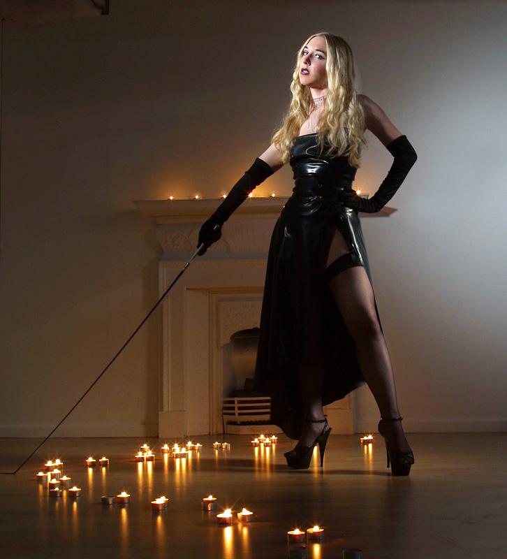 Mistress Sidonia von Borke owner of The English Mansion Fem Dom website