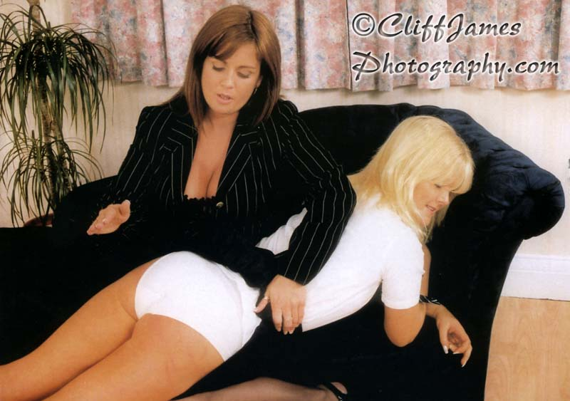 Teresa May spanking the beautiful Kane model Sam Johnson