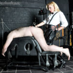 she gives him a good hard fucking with her strap-on cock