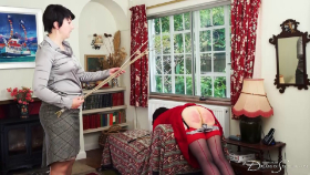 Pandora Blake's household accountant, Emma Christie, has been caught in some transactions of a more personal nature - but Pandora can't afford to let her go, so her punishment gets a little creative.