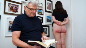 Pandora Blake has been rude and disrespectful all week, and Stephen Lewis has had enough. Will a severe OTK hairbrush spanking be enough to set her straight?