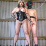 Chained for Milking